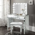 Everly Quinn Tatianna Vanity Set With Mirror Reviews Wayfair