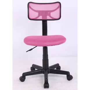 girls pink desk chair hanging wicker egg canada wayfair quickview