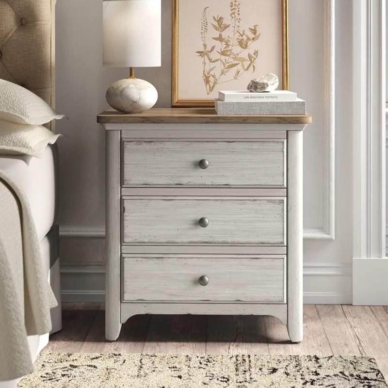 ayden 3 drawer nightstand