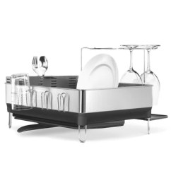Kitchen Sink Racks Extractor Accessories Perigold Steel Frame Dish Rack Fingerprint Proof Stainless With Grey Plastic