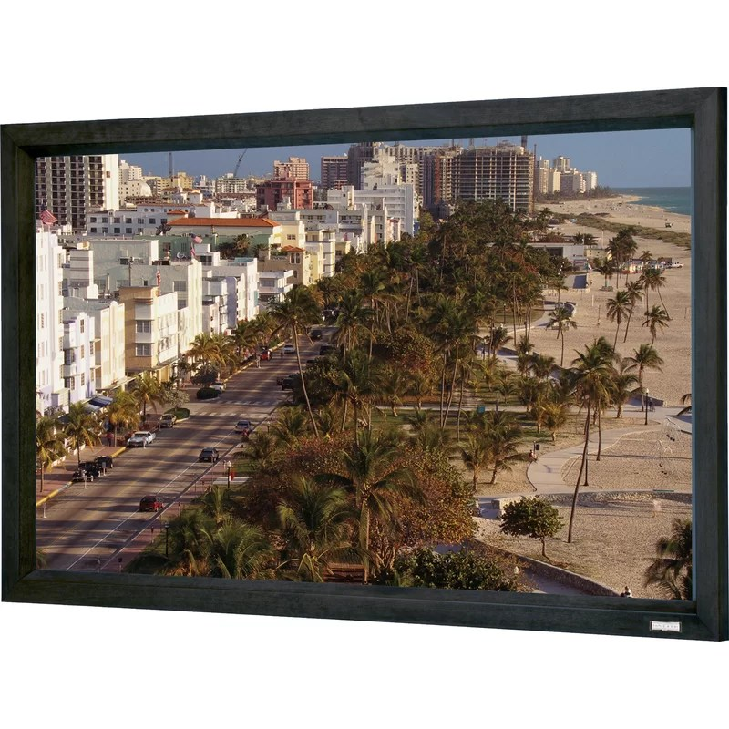 Cinema Contour Da-Tex Fixed Frame Projection Screen Viewing Area: 81 H x 192 W