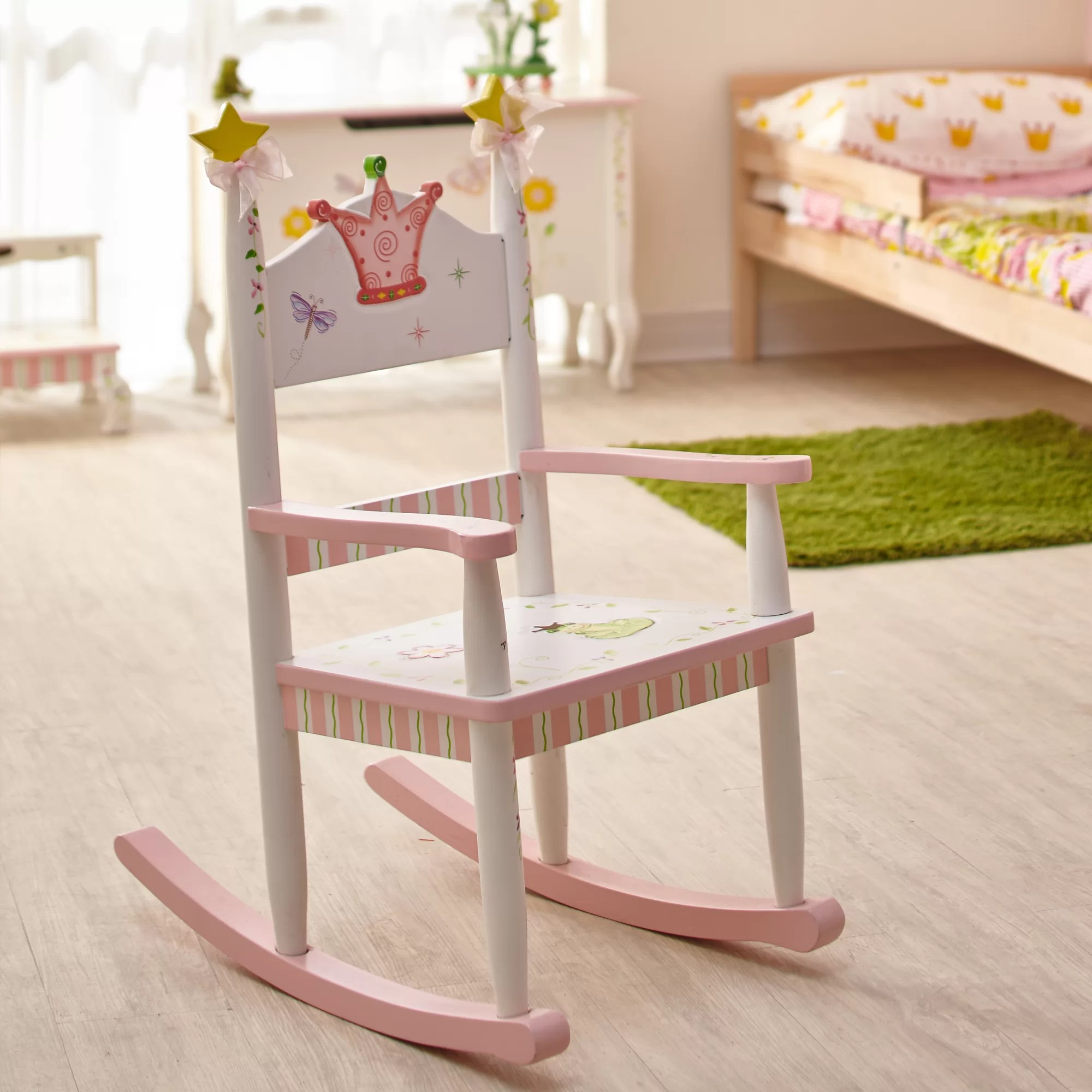 Kids Rocking Chairs Princess And Frog Kids Rocking Chair