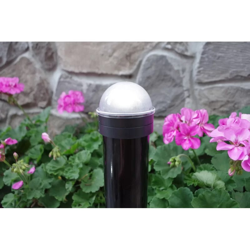 chainlink summit solar powered integrated led fence post cap