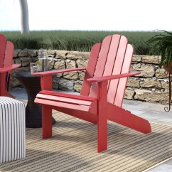 Adirondack Chair Wood Desk Arm Covers Beachcrest Home Norgren Solid Reviews Wayfair