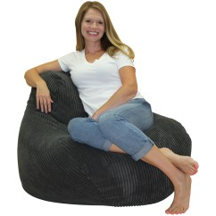 Corduroy Bean Bag Chair Best Office Latitude Run Wayfair