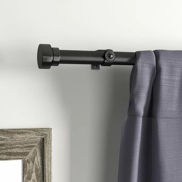240 inch curtain rod