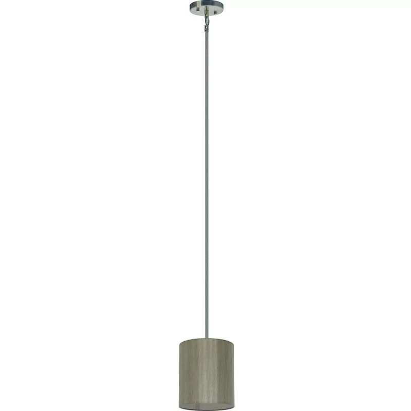 Olivo 1-Light Pendant Shade Color: Toffee Crunch
