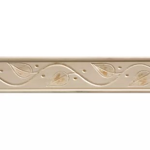 chair rail upside down desk for lower back pain ornamental mouldings wayfair hardwood embossed ivy trim moulding 1 75 h x 96 w 0 35 d