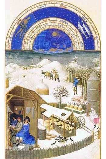 Les Tres Riches Heures Du Duc De Berry : riches, heures, berry, Buyenlarge, Riches, Heures, Berry, February, Print, Wayfair