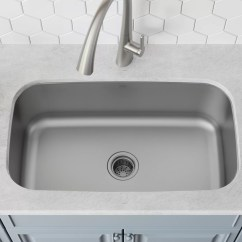 Kraus Kitchen Sinks Farmhouse Sink For Sale Stainless Steel 32 L X 19 W Undermount With Drain Assembly Reviews Wayfair Ca