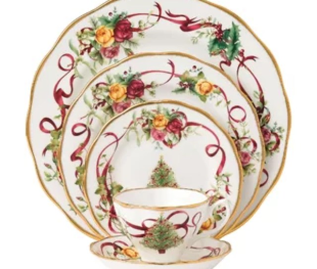 Christmas  Piece Place Setting Service For