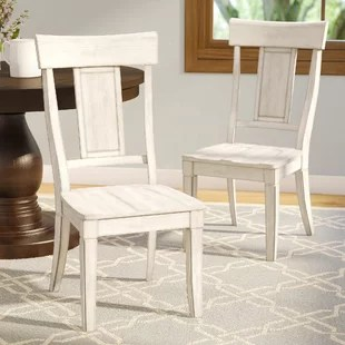 white distressed dining chairs beach for cheap farmhouse benches birch lane quickview antique gray