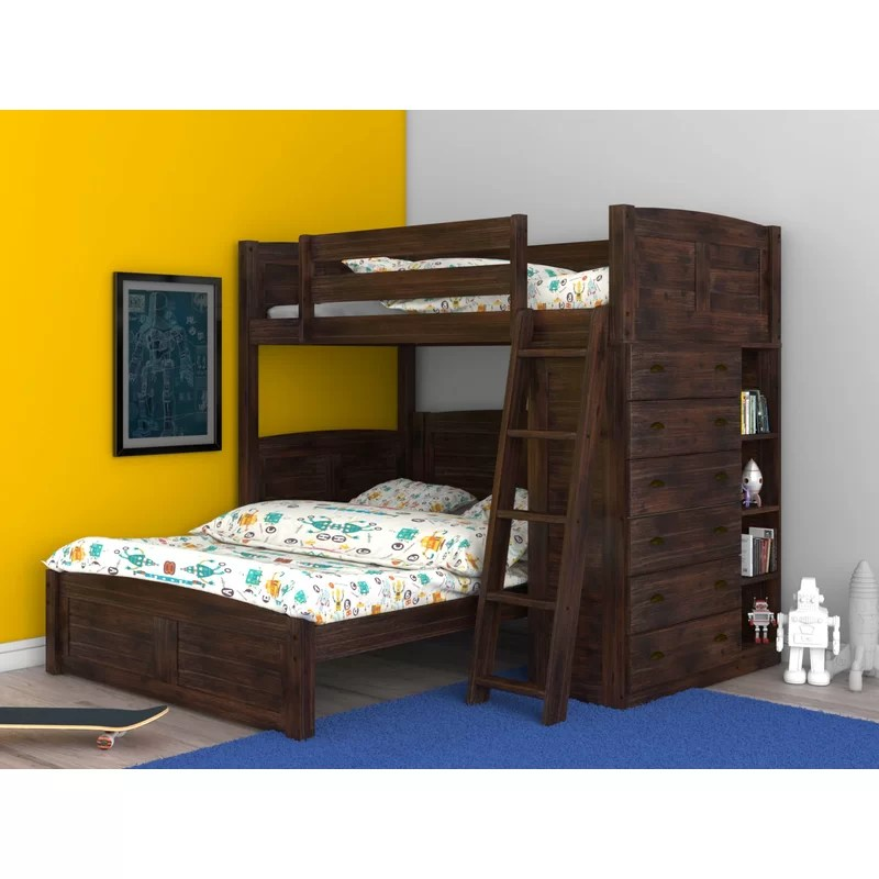 full over full l shaped bunk beds