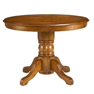 oak kitchen tables wire racks for honey table wayfair quickview
