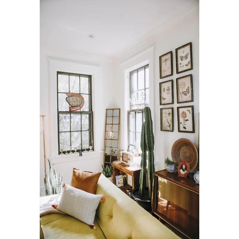 full length mirror in living room chairs ethan allen birch lane heritage rhonda reviews