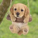 Hi Line Gift Ltd Hanging Golden Retriever Puppy Statue Reviews