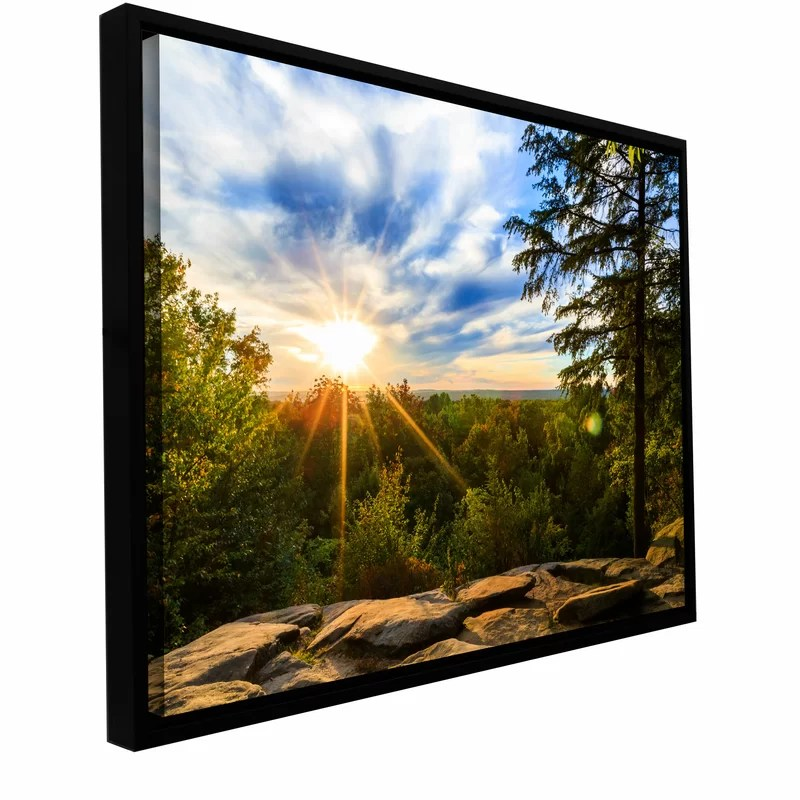 Virginia Kendall 2 by Cody York Framed Photographic Print on Wrapped Canvas Size: 32 H x 48 W