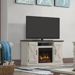Tv Stand Living Room Small Bedroom Ideas Ivory Fireplace Wayfair Quickview