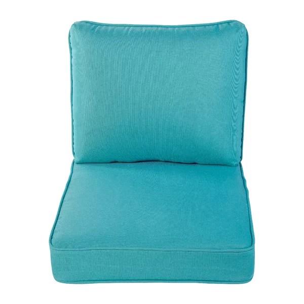 navy blue patio cushions