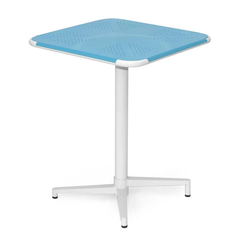 Fly Dining Table Color: Blue / White