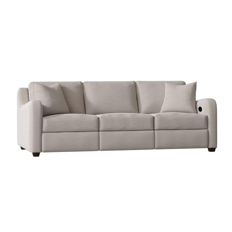 van reclining sofa