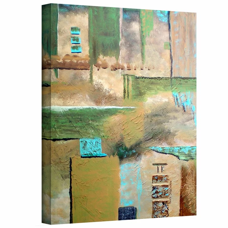 Connection by Herb Dickinson Print of Painting on Wrapped Canvas Size: 48 H x 36 W