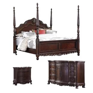 four poster bedroom sets you ll love in