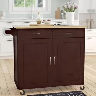 islands for kitchens utility kitchen cart carts you ll love wayfair quickview