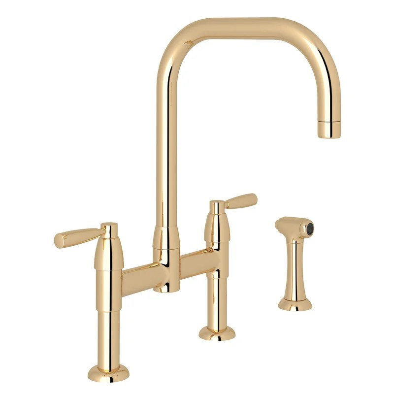 holborn bridge kitchen faucet with side spray