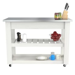 Stainless Steel Kitchen Cart Undermount Single Bowl Sink Charlton Home Maglione Reviews