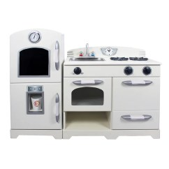 Wooden Play Kitchen Rochester Remodeling 2 Piece Set