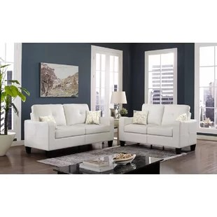 leather sofa sets for living room red white and blue ideas you ll love wayfair quickview