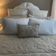 sahara nights polyester medium support pillow