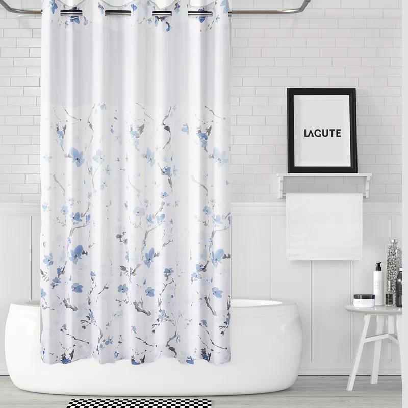 lagute snaphook single shower curtain