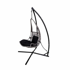 Swing Chair Drawing King Size Lawn Bloomsbury Market Newlon Wicker Rattan Hanging With Stand Wayfair