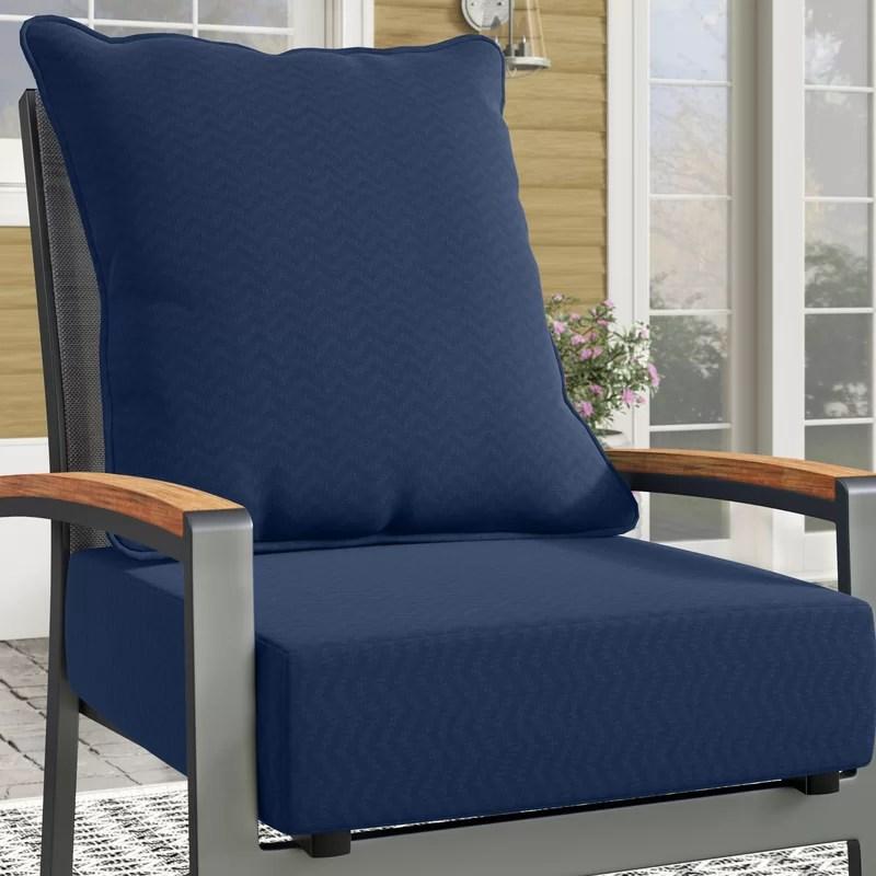 leala driweave outdoor seat back cushion