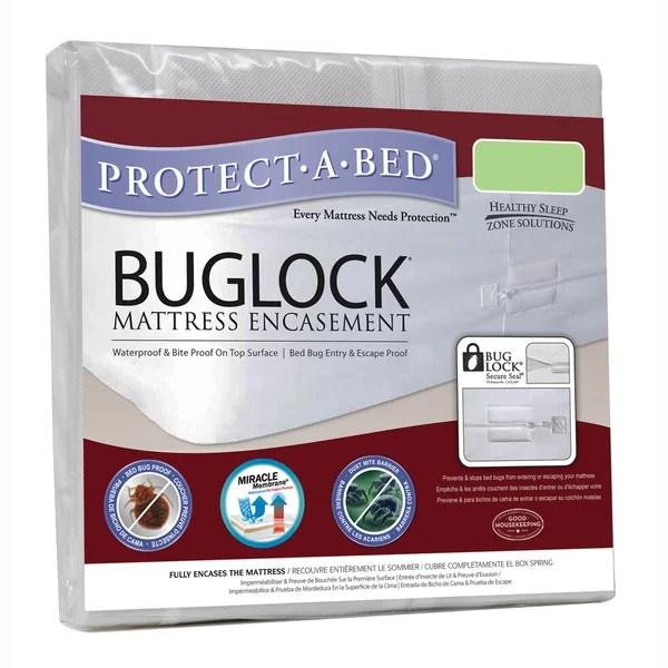 Protect A Bed Buglock Bug Proof Encat Waterproof Mattress Protector Reviews Wayfair