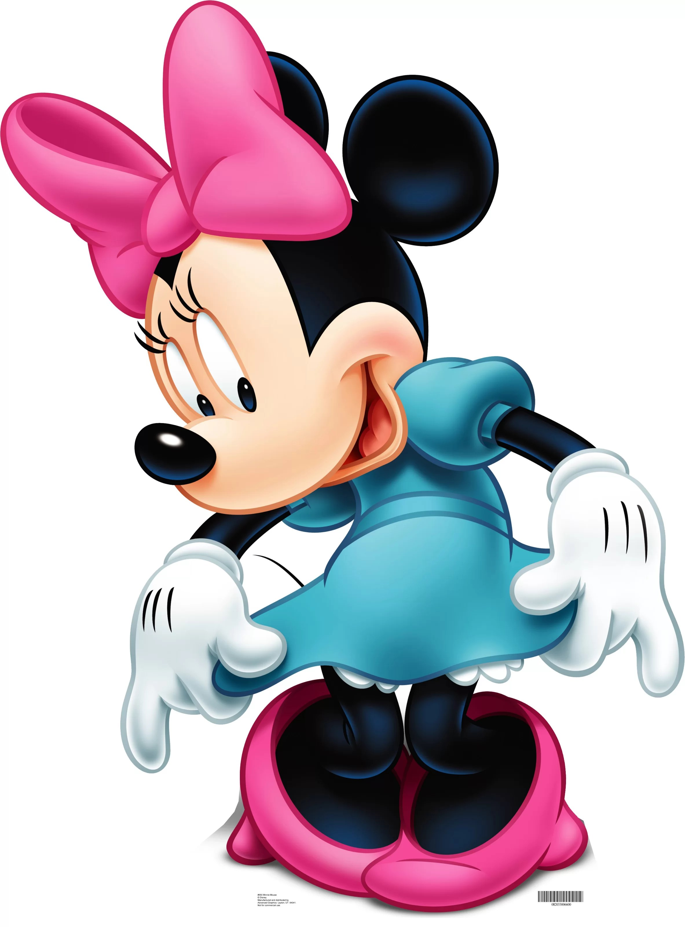 How Tall Is Minnie Mouse : minnie, mouse, Advanced, Graphics, Disney, Minnie, Mouse, Life-Size, Cardboard, Stand-Up, Reviews, Wayfair