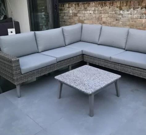 5 seater sofa set cover oxford studio lynton garden dayne rattan effect corner reviews wayfair co uk