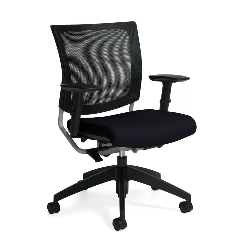posture chair desk folding history global total office graphic mesh wayfair