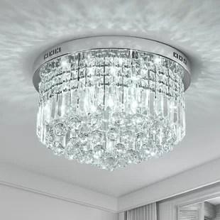 marin 9 light 20 chandelier style tiered flush mount