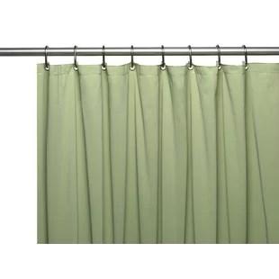 saba vinyl single shower curtain liner