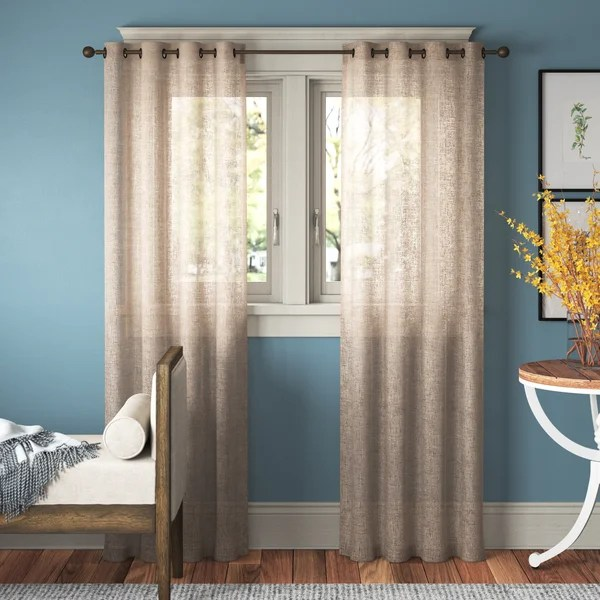 102 inch curtains