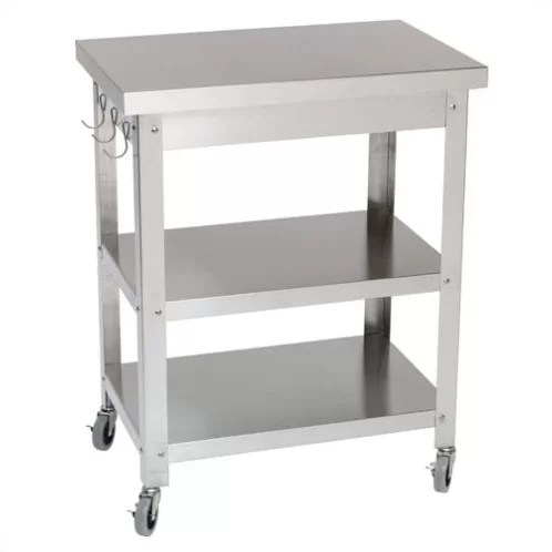 kitchen serving cart space saving radiators danver cocina reviews wayfair