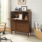 Canora Grey Tabor Solid Wood Armoire Desk