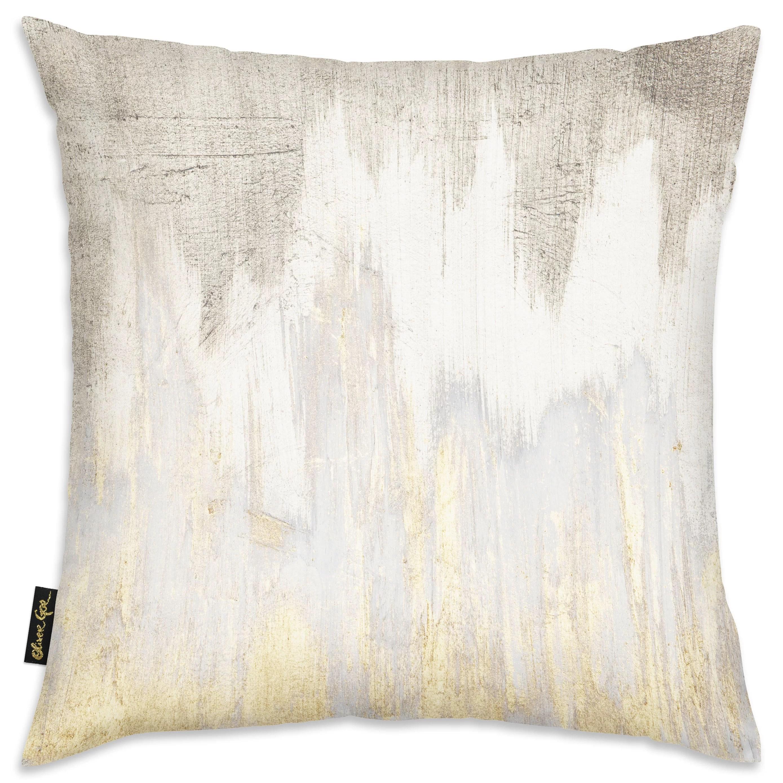 german golden caves throw pillow