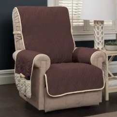 Recliner Chair Covers Grey Swivel Executive Wingback Slipcovers Wayfair Quickview