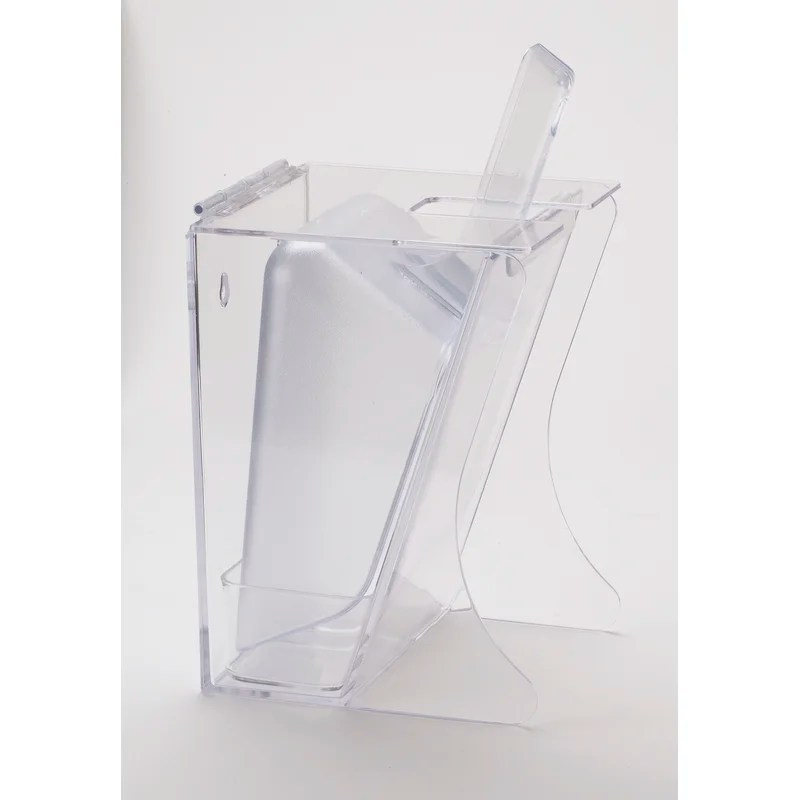 Freestanding Ice Scoop Holder Size: 64 Ounces