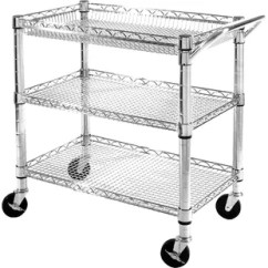 Wire Kitchen Cart Delta Pull Out Faucet Wayfair 3 Shelf Nsf Commercial Steel Utility