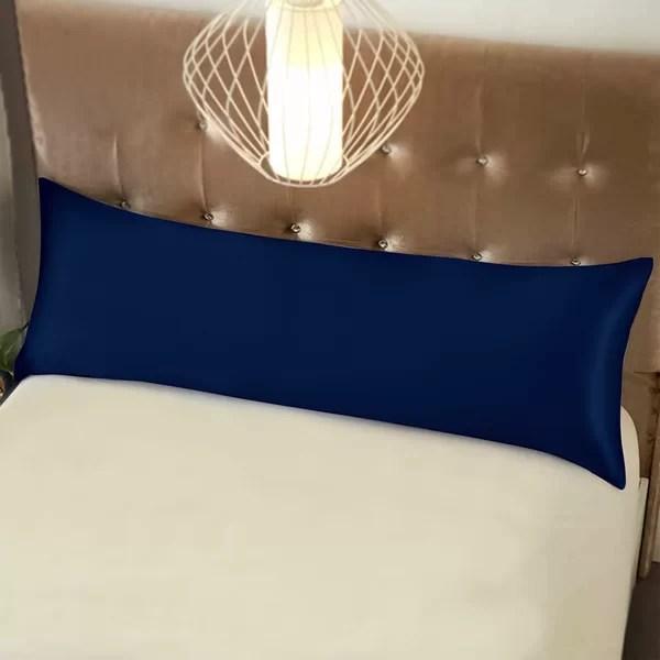 teal body pillow case